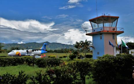 El aeropuerto Contador es uno de los tres terminales aéreos con los que cuenta el departamento del Huila