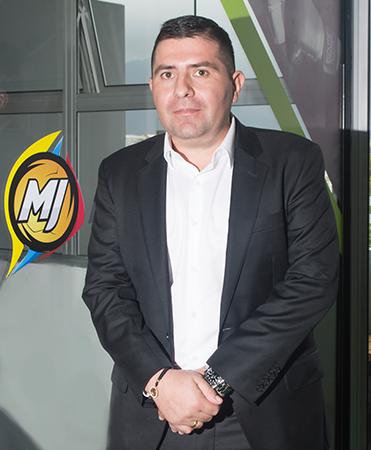Juan Manuel Rojas, gerente del Grupo Empresarial Geonline