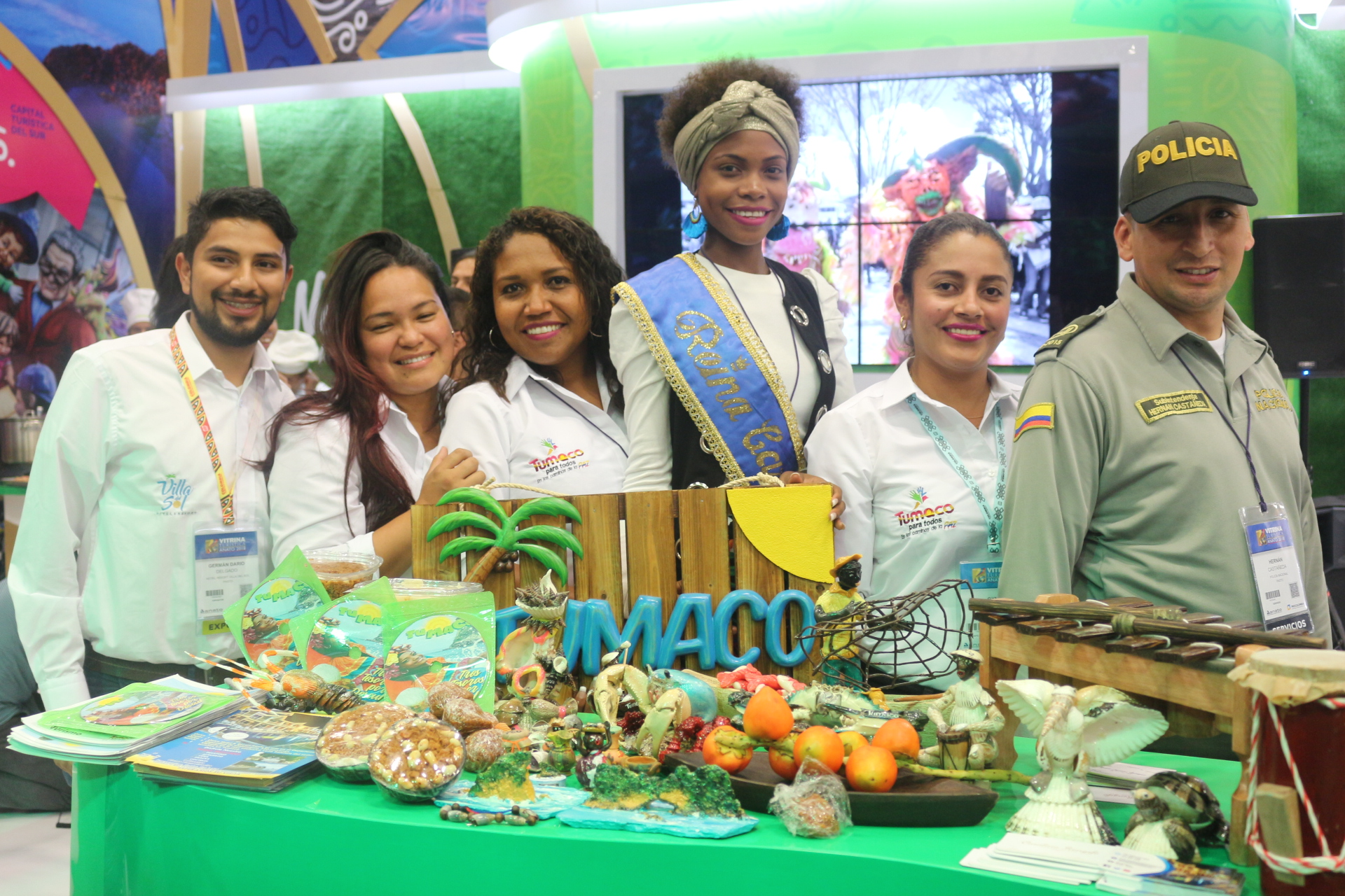 Desde la vitrina de Anato 2018, la Alcaldía de Tumaco mostró todo su potencial turístico con el que se espera cambiar su imagen a la de un territorio próspero y lleno de oportunidades