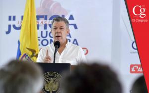 Santos pide al Congreso agilizar trámite de proyecto que fija procedimiento de la JEP