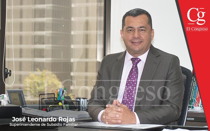 Superintendente Subsidio Familiar -José Leonardo Rojas