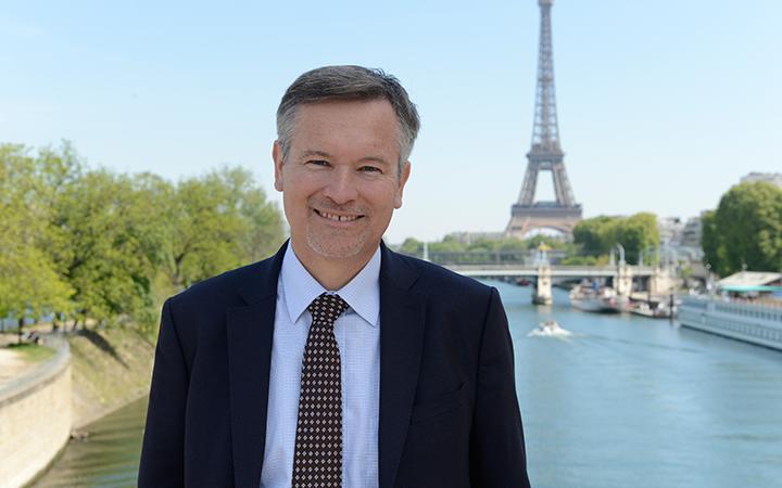 Embajador de Francia en Colombia, Gautier Mignot.