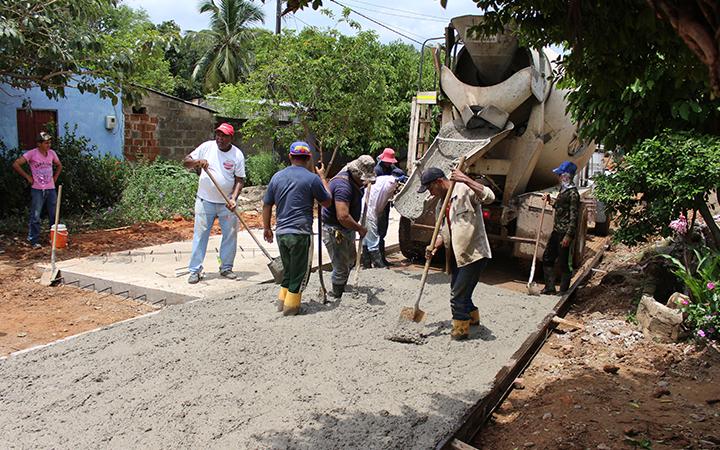 Proyecto de pavimentación que beneficiará a más de 50 calles del casco urbano de Pelaya.