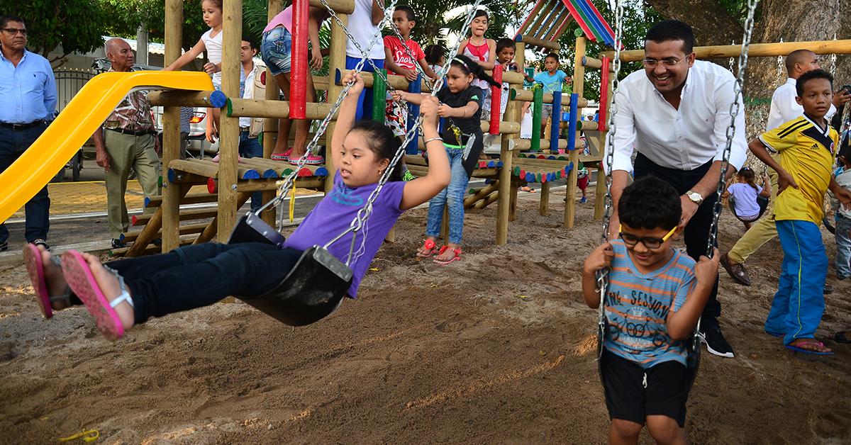 Ramírez se ha esforzado por reconstruir el tejido social de la capital del Cesar, a través de la ejecución de proyectos que cuentan con una fuerte inversión.