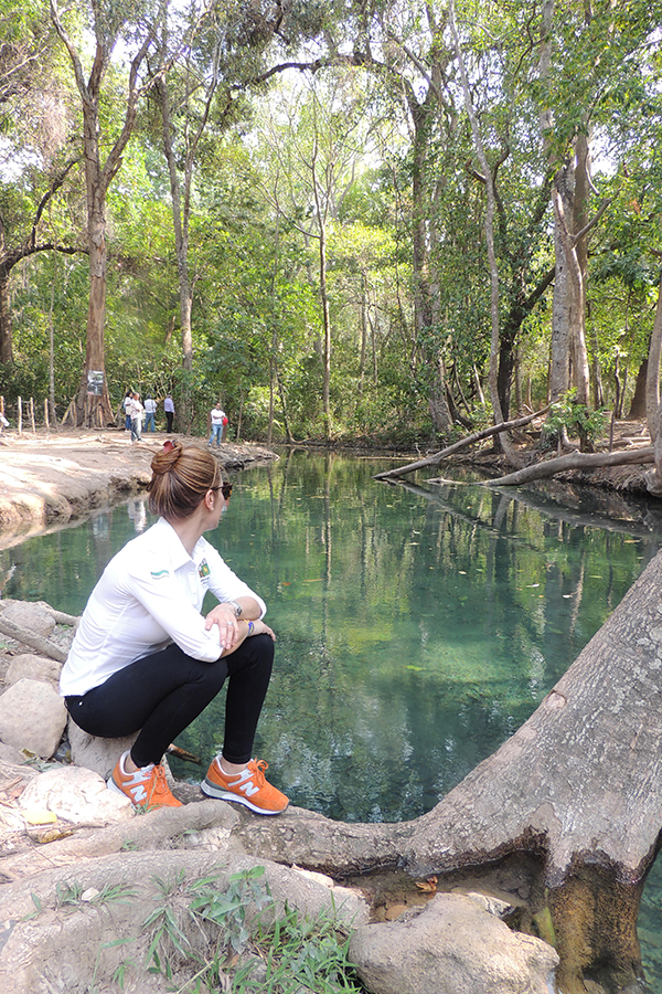 La gobernadora designada está convencida de que el futuro de La Guajira está en el turismo.