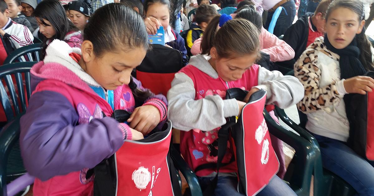 Un completo kit escolar han recibido más de 12 mil menores en Norte de Santander.