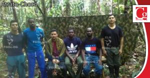 ELN libera secuestrados en Chocó luego de un mes de cautiverio