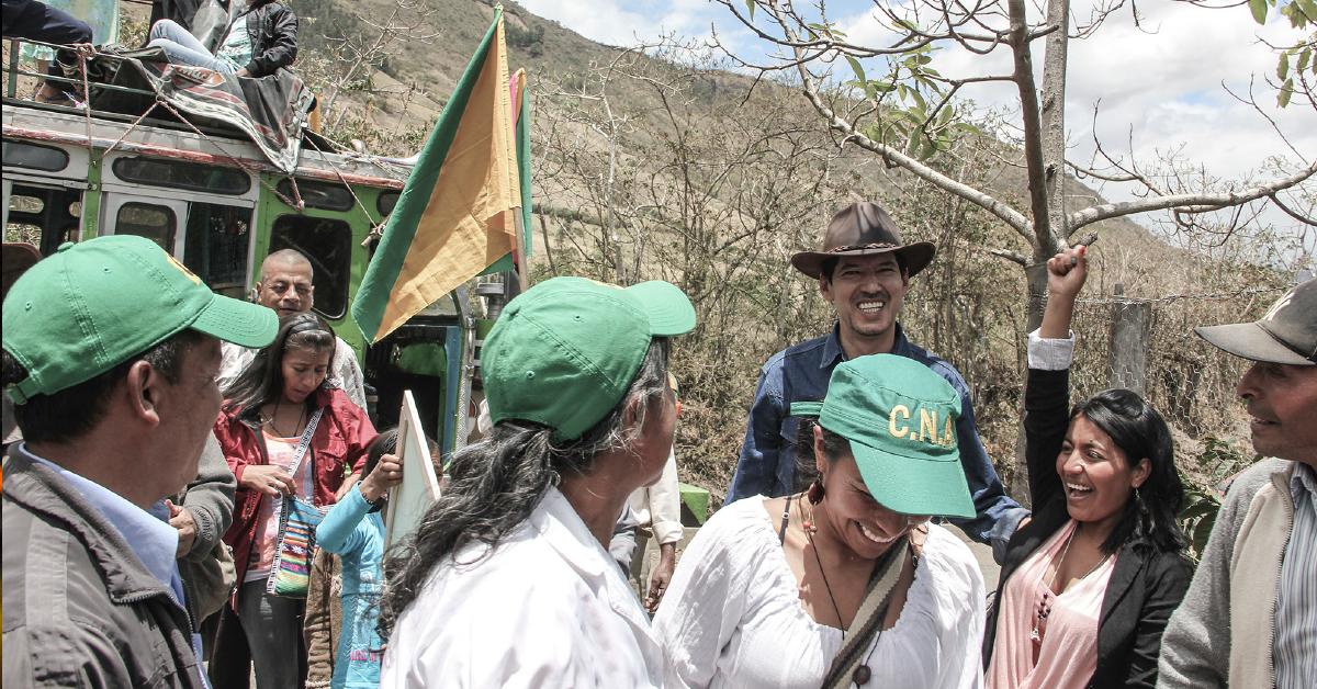 Jesús Alberto Castilla se ha mostrado como la voz de los campesinos dentro del Congreso de la República, trabajando para visibilizar sus necesidades.