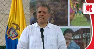 Hoy venimos a Machuca, 20 años después de la tragedia, a decirles que estamos presentes: Presidente Duque
