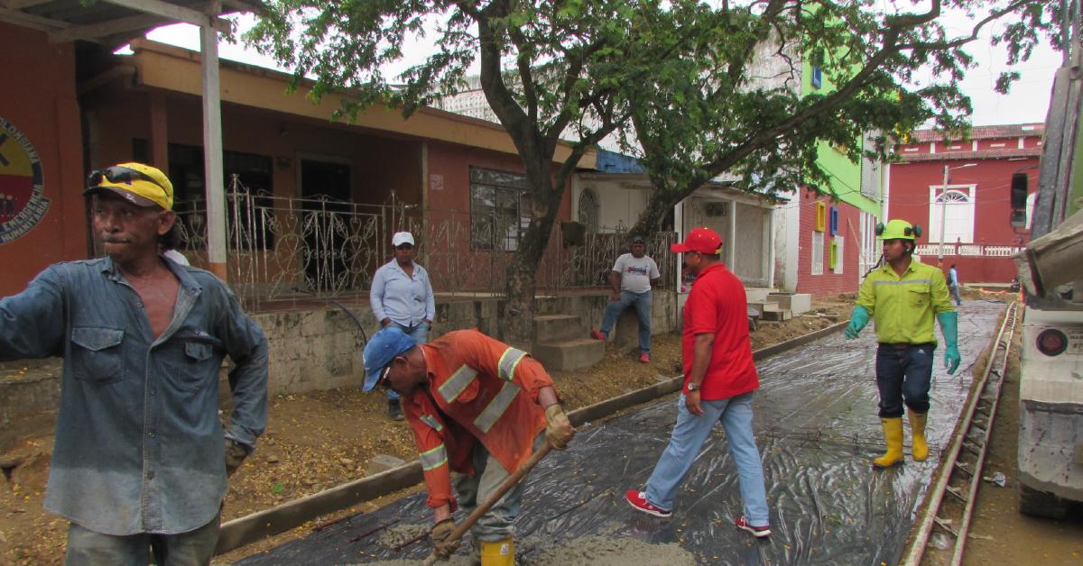 Gracias a la buena gestión, Altamar ha logrado restaurar vías que necesitaban intervención urgente.