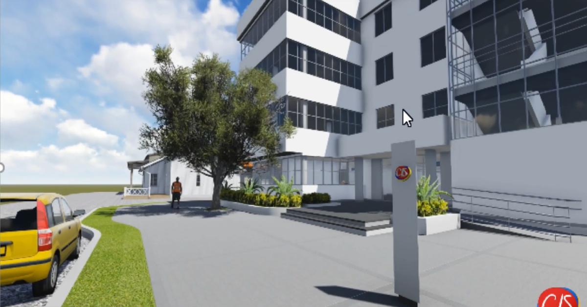 En el primer piso del edificio de la Alcaldía se está construyendo el 1er Centro de Servicios Integrales que tendrá el municipio de Corozal.