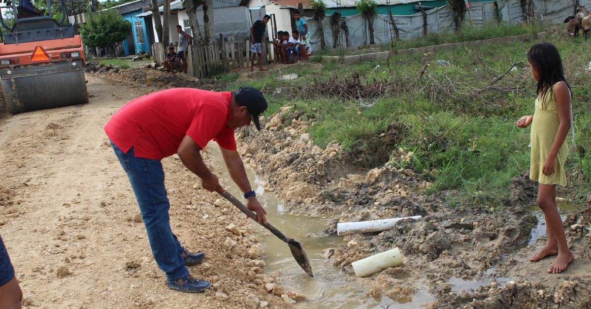La construcción del alcantarillado, cuya inversión podría alcanzar los 25 mil millones de pesos, es urgente.