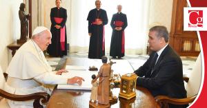 Duque reitera voluntad de diálogo con el ELN, tras reunión con el Papa
