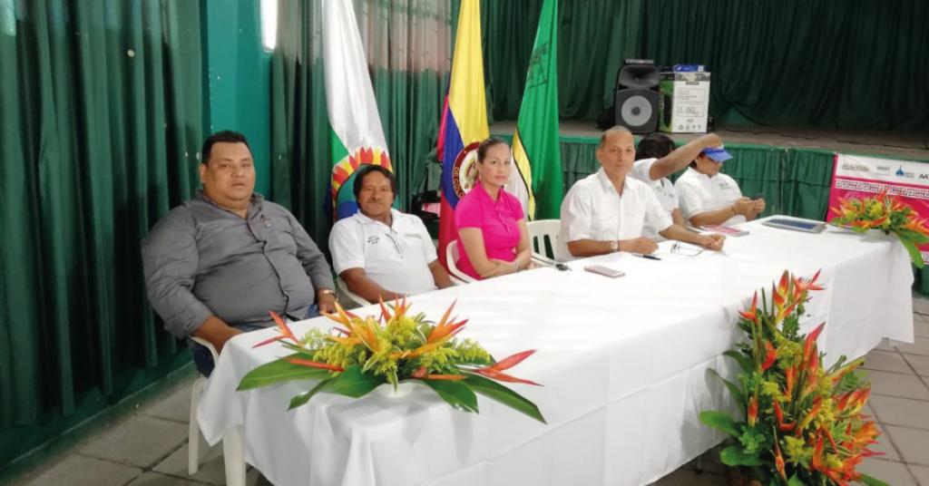 Instalación de la mesa de concertación entre la administración departamental y las autoridades indígenas.
