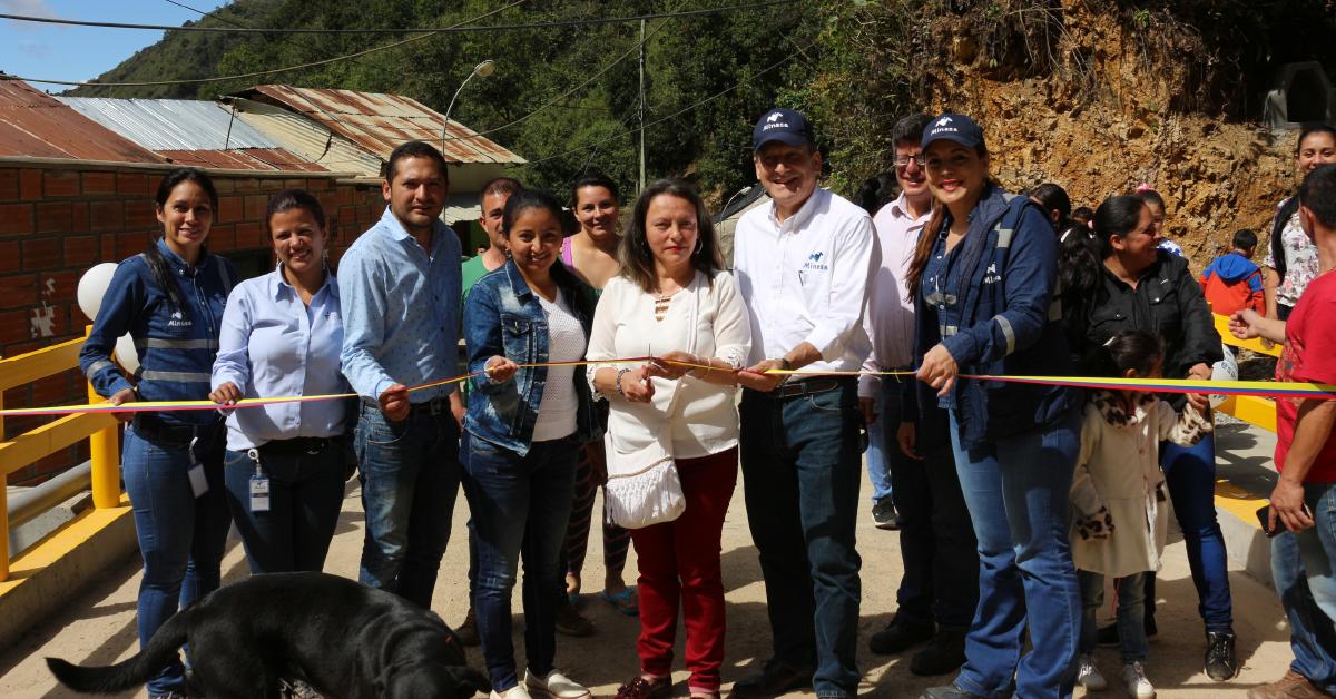 Los proyectos de Minesa van encaminadas a mejorar el progreso social, cultural y ambiental en Santander.