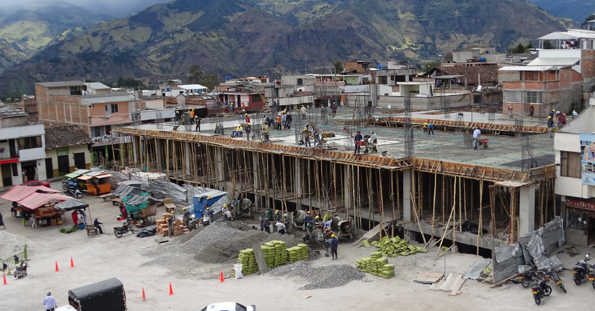 La construcción de la galería municipal es uno de los proyectos de más impacto en La Cruz.