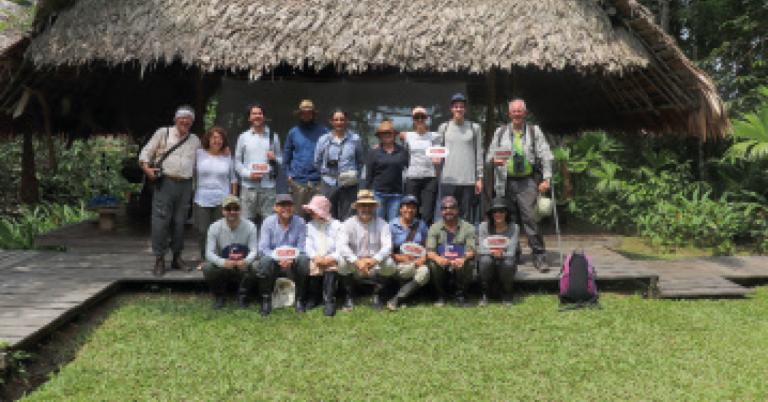 Para identificar oportunidades de turismo sostenible, el embajador Tibber viajó al Amazonas con una delegación británica y colombiana. Fotografía: Natalia Molina, Embajada Británica.
