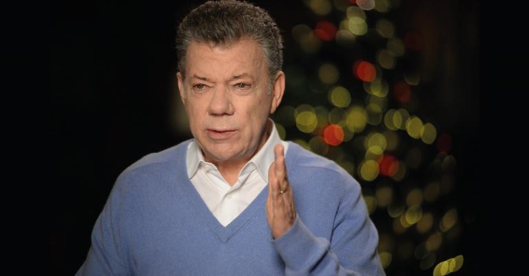 Juan Manuel Santos, exdirector de El Tiempo y expresidente de la República.