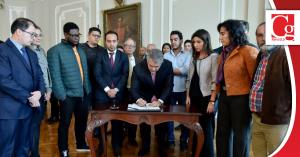 Duque anuncia acuerdo con estudiantes para poner fin a paro