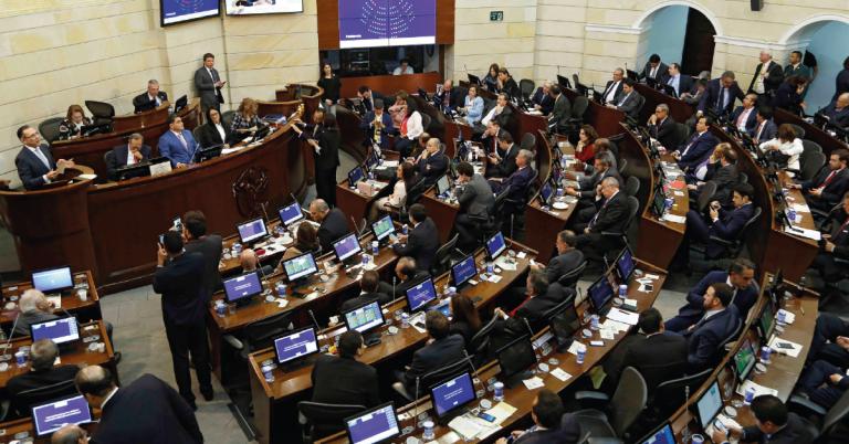 El Congreso de la República fue escenario de intensos debates sobre la Ley de Financiamiento y las reformas a la política y a la justicia.