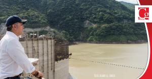 Presidente Duque hizo seguimiento al cierre de la primera compuerta en Hidroituango