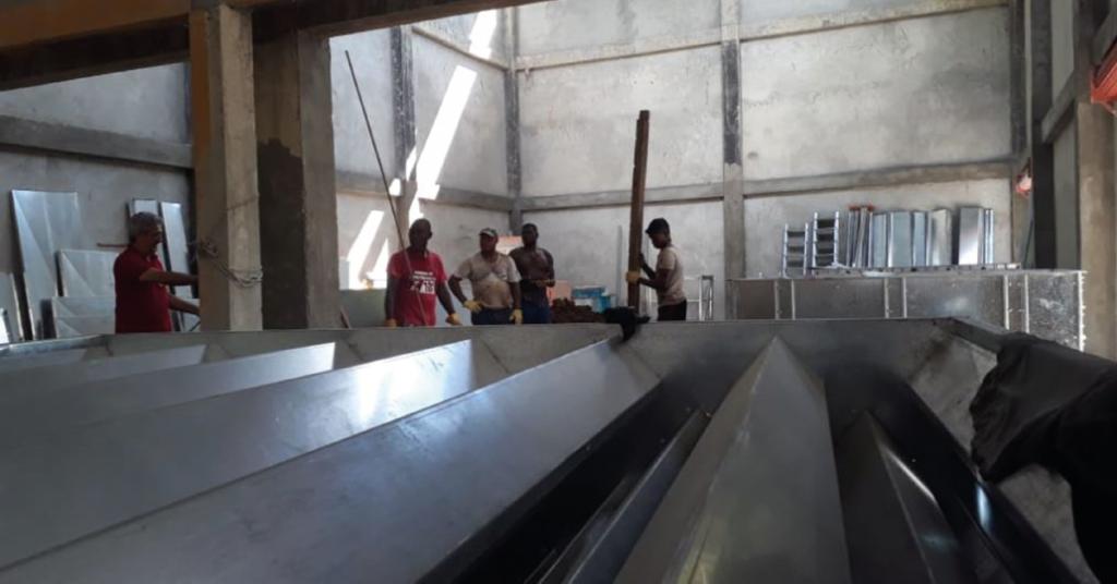 En poco tiempo concluirá el montaje e instalación del molino arrocero industrial en Puerto Meluk