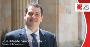 Gnecco, un senador comprometido con el Cesar