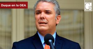 Cerco diplomático a Venezuela es irreversible: Duque