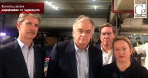 Eurodiputados expulsados de Venezuela intentarán entrar por Colombia