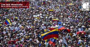 Más de 300 mil personas disfrutaron del concierto #VenezuelaAidLive