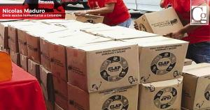 Maduro envía ayuda alimentaria a Colombia