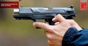 Nueva reglamentación para permisos especiales de porte de armas