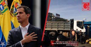 La caravana de Guaidó va hacia Cúcuta para recibir ayuda humanitaria