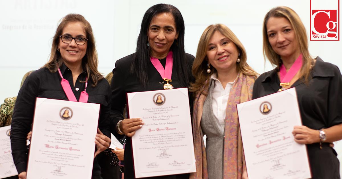El Congreso reconoció a mujeres artistas y emergentes del país