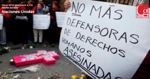 Preocupa a ONU aumento de asesinatos y masacres en Colombia