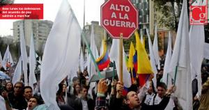 Marchas en todo el país en defensa de la JEP