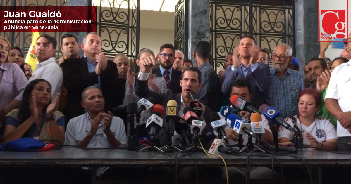 Guaidó-anuncia-paro-de-la-administración-pública-en-Venezuela