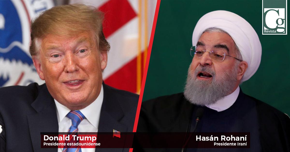Donald-Trump,-Hasán-Rohaní