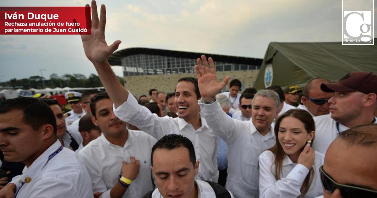 Duque-rechaza-anulación-de-fuero-parlamentario-de-Guaidó