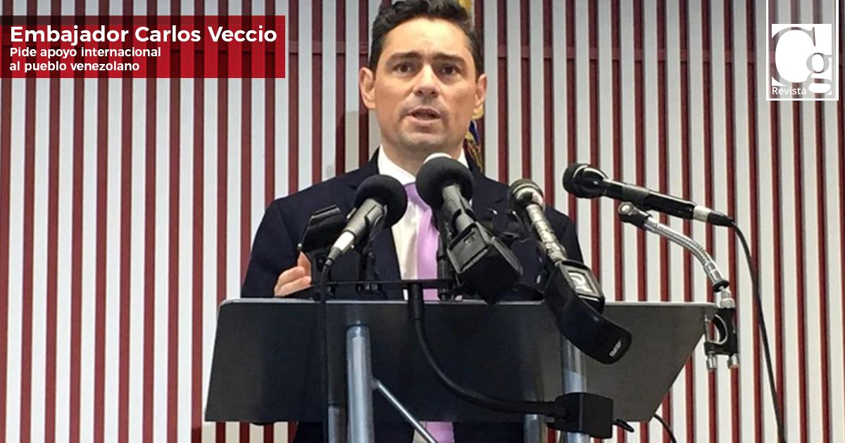 Embajador-Carlos-Veccio,-pide-apoyo-internacional-al-pueblo-venezolano