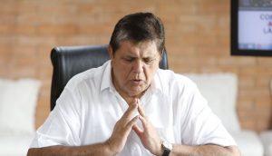 El expresidente del Perú Alan García se suicidó antes de su detención