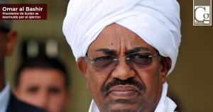 Ejército destituye a presidente de Sudán