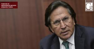 Capturan al expresidente peruano Alejandro Toledo