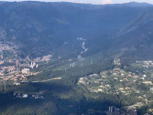 Vista aérea - Valle de Aburrá