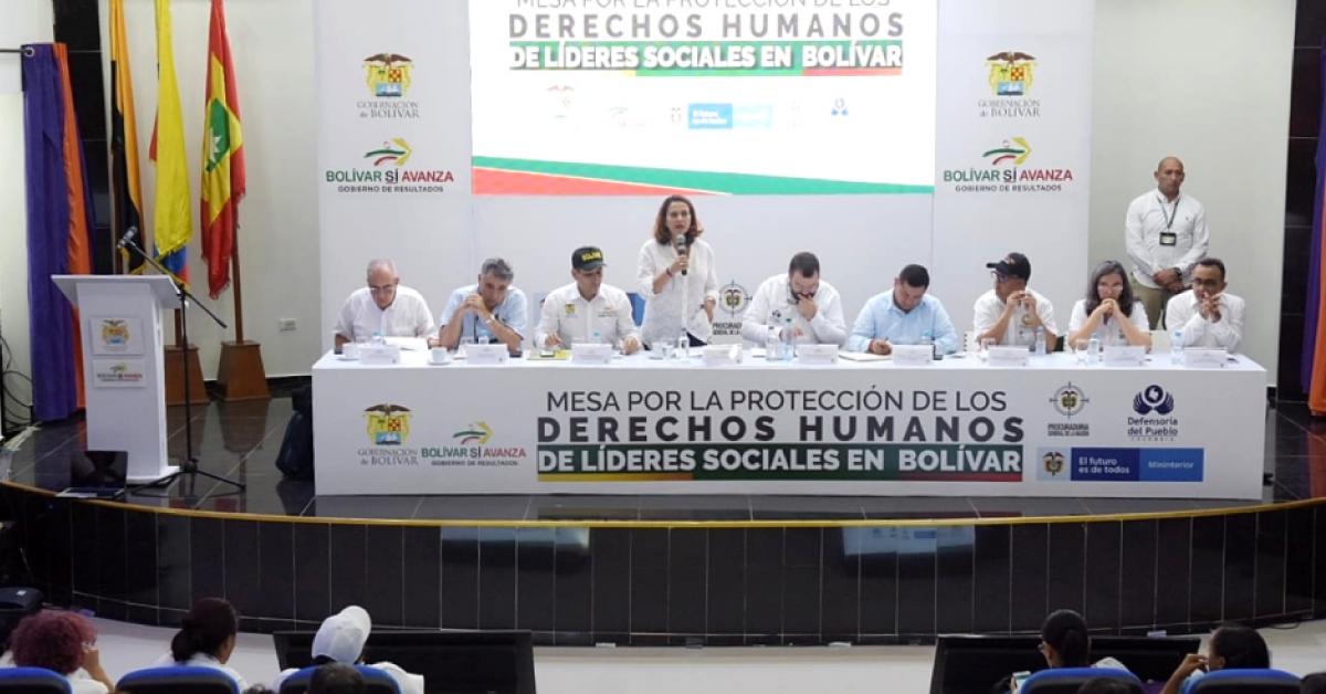 La-ministra-del-Interior,-Nancy-Patricia-Gutiérrez,-anunció-un-plan-de-protección-a-líderes-sociales