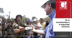 Las FARC: de la incertidumbre a la seguridad territorial