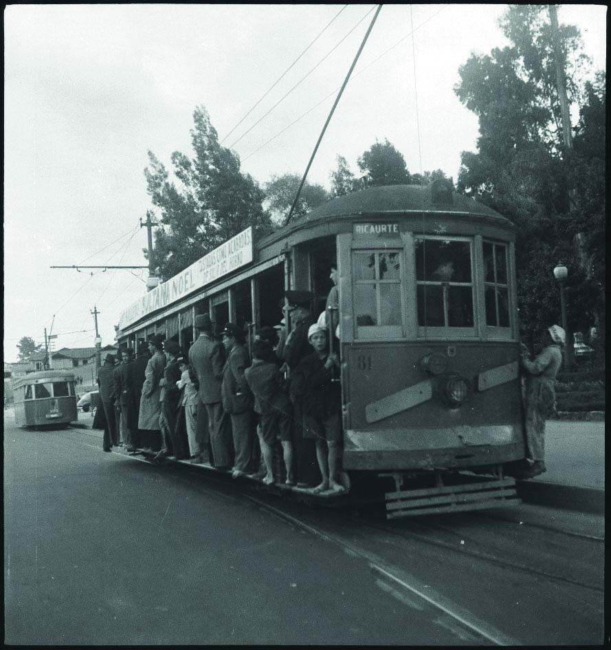 Tranvía de Bogotá 1948