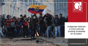 indigenas protestas en Ecuador
