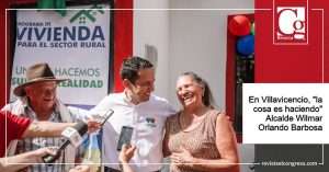 """En Villavicencio, """"la cosa es haciendo"""" Alcalde Wilmar Orlando Barbosa"""