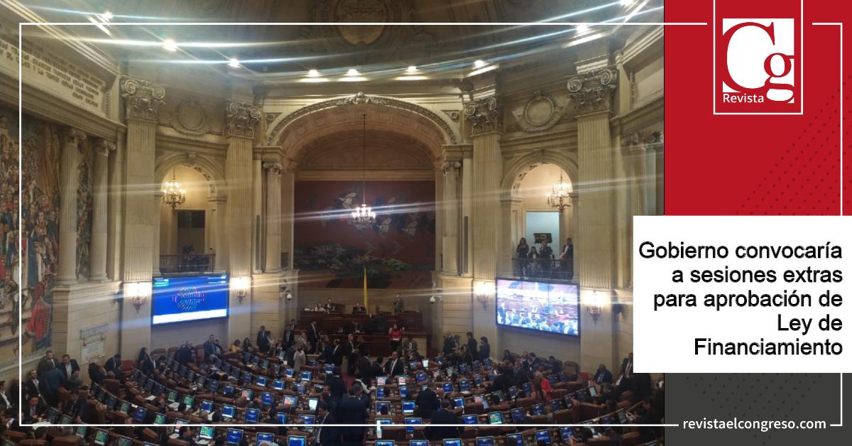 Gobierno convocaría a sesiones extras para aprobación de Ley de Financiamiento